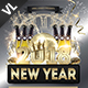 New Year Party Poster / Flyer V02 - GraphicRiver Item for Sale