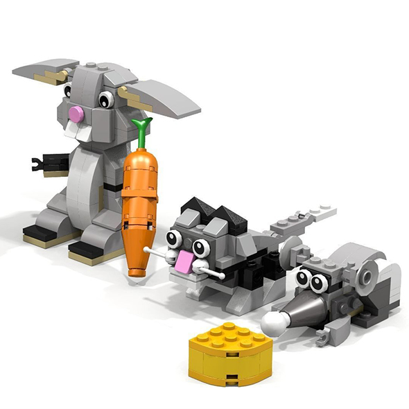 3DOcean Lego Animals pack 21067576