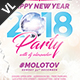 New Year Party Poster / Flyer V15 - GraphicRiver Item for Sale