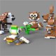 Lego Animals pack 1
