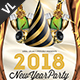 New Year Party Poster / Flyer V06 - GraphicRiver Item for Sale