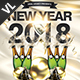 New Year Party Poster / Flyer V08 - GraphicRiver Item for Sale