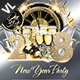 New Year Party Poster / Flyer V04 - GraphicRiver Item for Sale