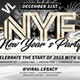 New Year Party Poster / Flyer V01 - GraphicRiver Item for Sale