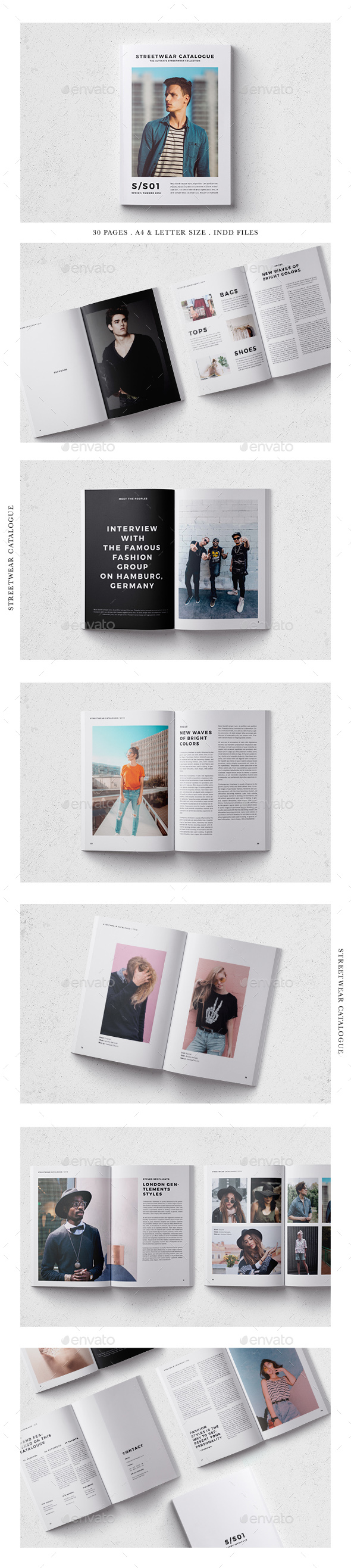 GraphicRiver Minimalist Fashion Lookbook 21067844