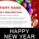 New Year Greetings / Birthday Greetings - 3 COLORs - ThemeForest Item for Sale