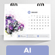 Clean Desk Calender 2018 - GraphicRiver Item for Sale