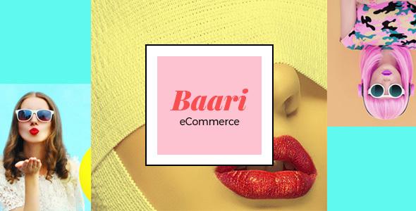 Baari eCommerce PSD Template