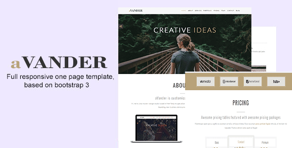 Bootstrap - Creative Site Templates