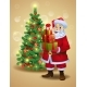 Santa Claus with Gifts - GraphicRiver Item for Sale