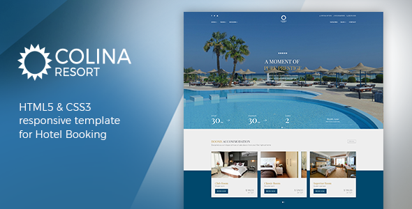 Download Colina - Hotel HTML Template