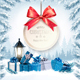 Christmas Holiday Banners With Presents And Gift Card