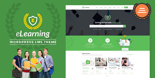 LMS WordPress Theme - eLearning WP - Education WordPress