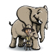 African Travel Elephant - GraphicRiver Item for Sale