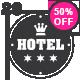 20 Hotel Vintage Labels - GraphicRiver Item for Sale
