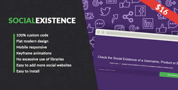 Social Existence - CodeCanyon Item for Sale