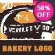 20 Bakery Vintage Labels - GraphicRiver Item for Sale