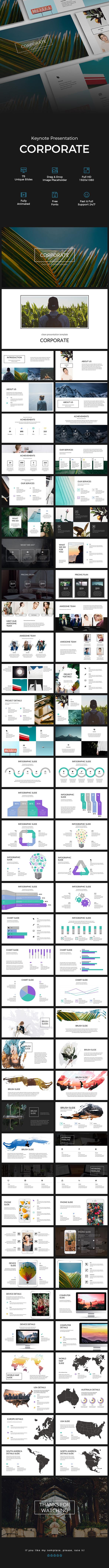 GraphicRiver Corporate Keynote Presentation 21069322