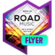 Club Flyer - Road Music - GraphicRiver Item for Sale