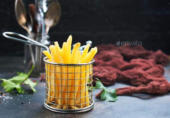 fried potato - Stock Photo - Images