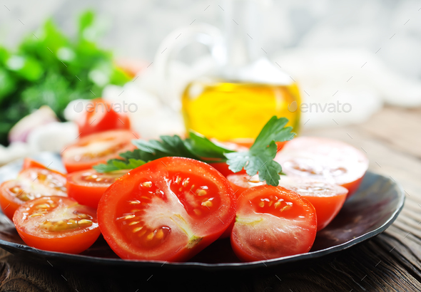 fresh tomato - Stock Photo - Images