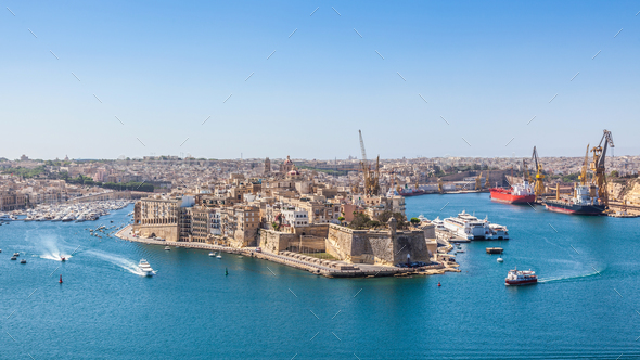 Grand Harbour, Malta - Stock Photo - Images