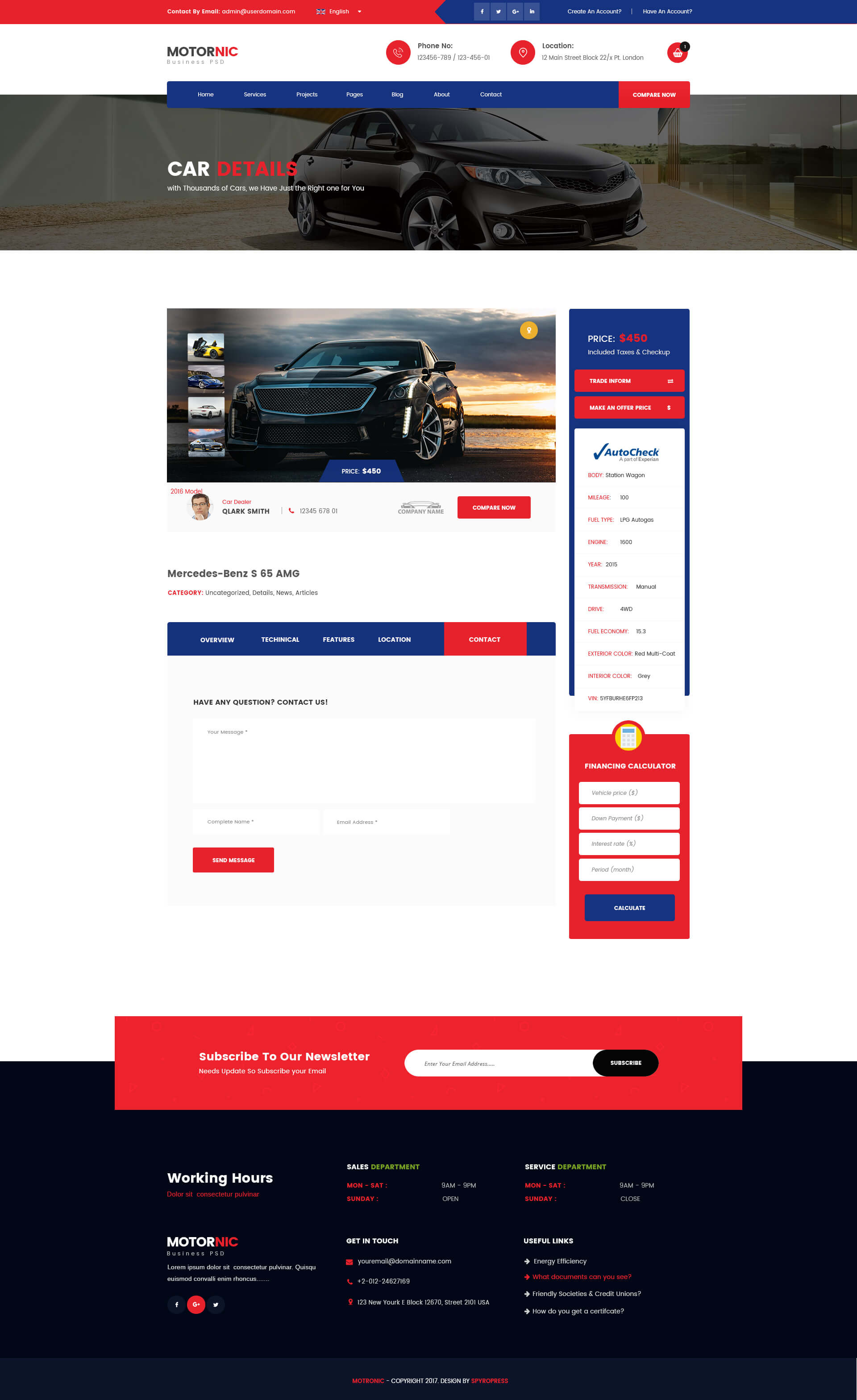 motornic vehicle marketplace psd template by spyropress themeforest