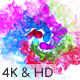 Colors of Particles Swirls Ident - VideoHive Item for Sale