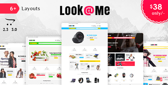 Look Me - Opencart 3 Multi Purpose Responsive Theme