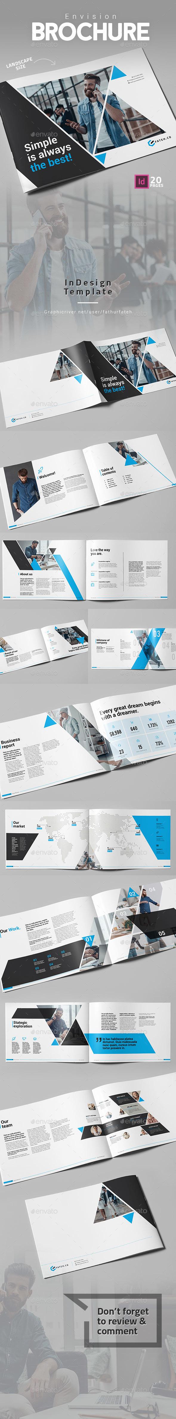 GraphicRiver Envision Brochure Landscape 21069979