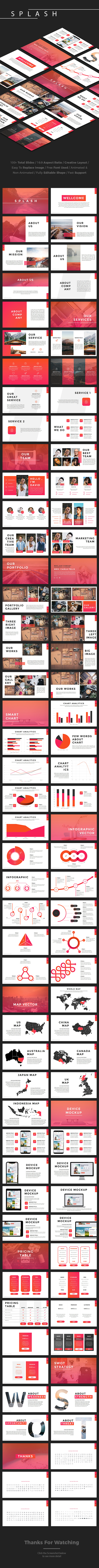 Splash - Multipurpose PowerPoint Template - PowerPoint Templates Presentation Templates
