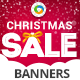 Christmas Sale HTML5 Banners - 7 Sizes - CodeCanyon Item for Sale