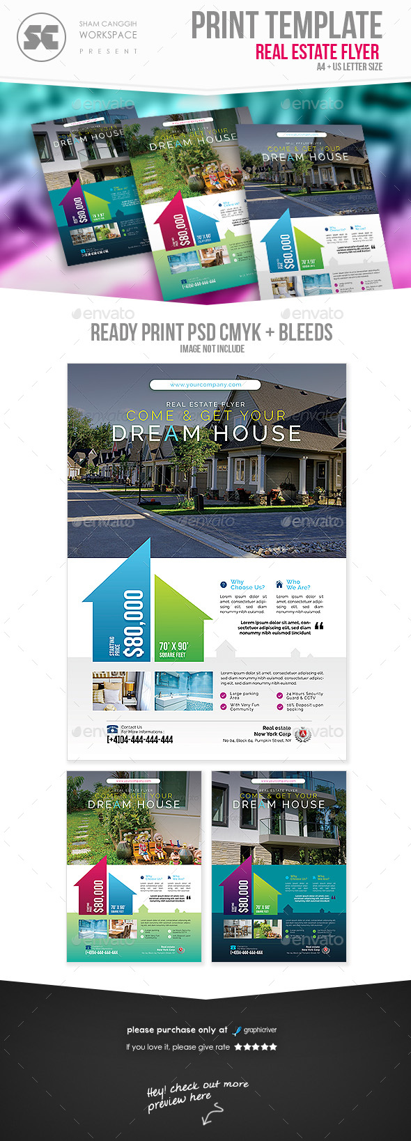 GraphicRiver Real Estate Flyer 21070911