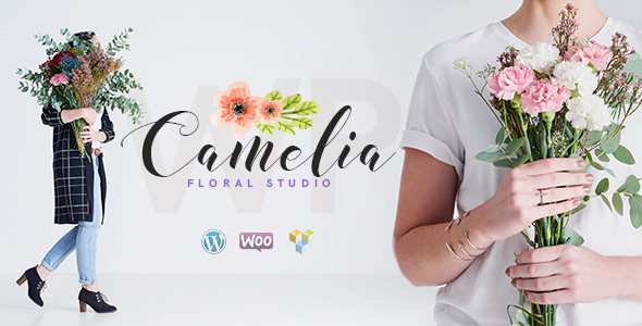Camelia | Floral Studio WordPress Theme