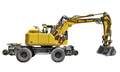 Yellow Bulldozer with shadow isolated on white - PhotoDune Item for Sale
