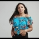 Hot Latino Woman in Blue Top - VideoHive Item for Sale