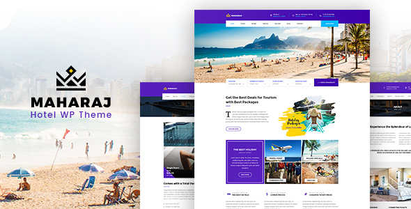 Download Maharaj Hotel - Hotel Booking Theme            nulled nulled version