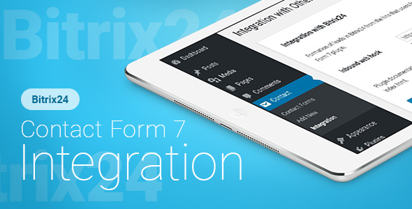 Contact Form 7 - Bitrix24 CRM - Integration - CodeCanyon Item for Sale