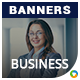 Business & Marketing HTML5 Banners - 7 Sizes