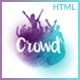 TheCrowd - Rock Band Page HTML Template with Page Builder - ThemeForest Item for Sale