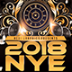 2018 Nye Party - Flyer - GraphicRiver Item for Sale