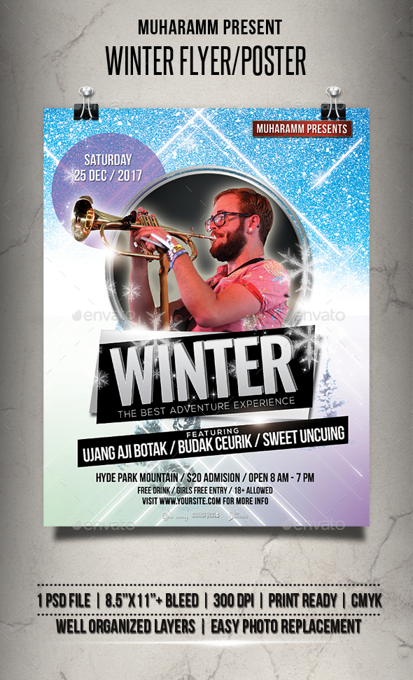 Winter Flyer / Poster - Events Flyers