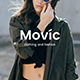 Movic - Clothing and Fashion Google Slide Template