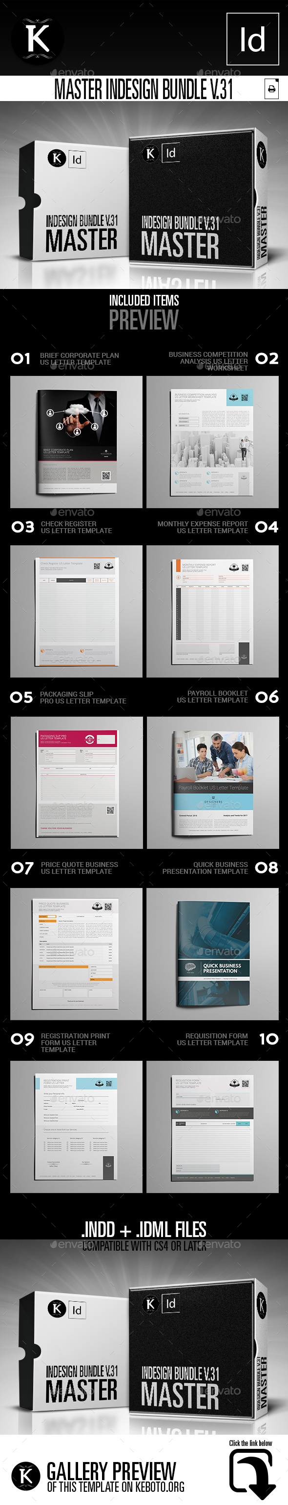 GraphicRiver Master inDesign Bundle v.31 21071365