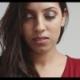 Attractive Hispanic Model in Dark Red Dress - VideoHive Item for Sale