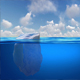 Iceberg Hidden Danger Global Warming Concept - VideoHive Item for Sale