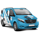 European Light Commercial Van Mockup - GraphicRiver Item for Sale