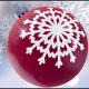 Red Christmas Ball Background - VideoHive Item for Sale