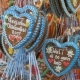 Traditional Colorful Gingerbread Heart Shaped at the Oktoberfest Festival, Bavaria, Germany - VideoHive Item for Sale