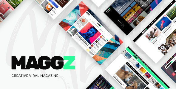 Maggz - A Creative Viral Magazine and Blog Theme